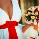 свадебное платье для мамы