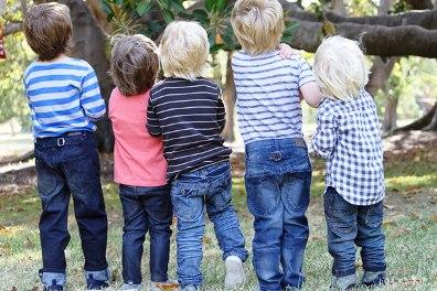 джинсовая одежда для детей