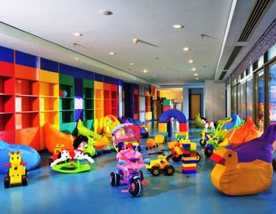 Клуб для детей в одном из отелей Турции