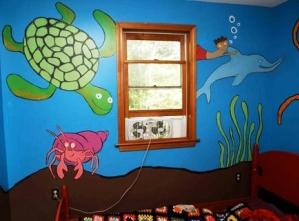 Морская тема в дизайне комнаты