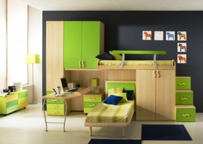 Дизайн детской комнаты для девочки - фото