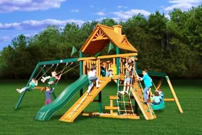 Детская площадка во дворе своими руками