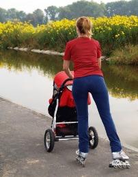 Убрать живот после родов. Физические нагрузки