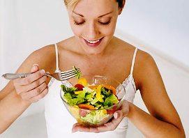 Плоский живот после родов. Правильное питание