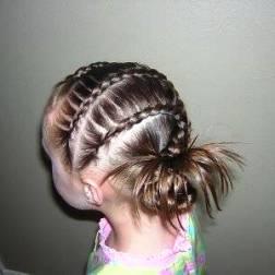как сделать прическу девочке для длинных волос