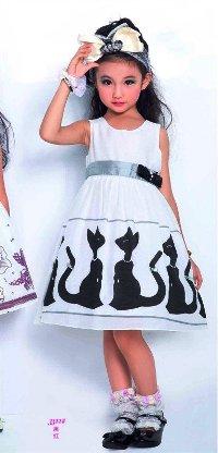 Модная летняя одежда для девочек 2011