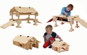 Как сделать конструктор для детей своими руками