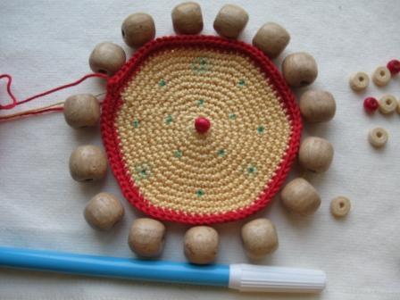 о начинке вязаной крючком