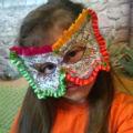 детская новогодняя маска