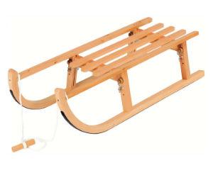 детские деревянные санки