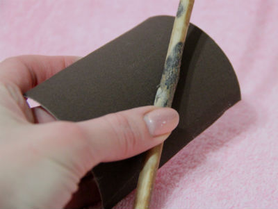 Как сделать волшебную палочку легко и просто