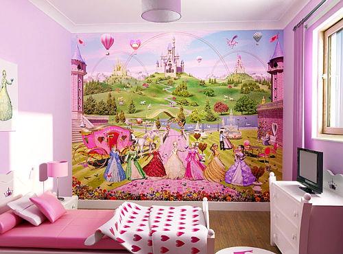детские фотообои на стену