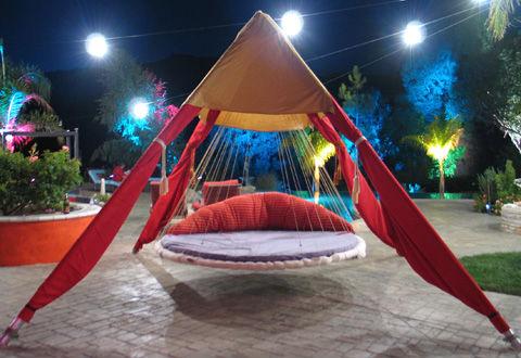 кровать-гамак для детской комнаты