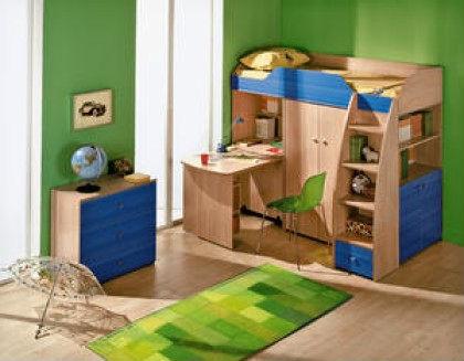 модульная мебель для детской комнаты мальчика