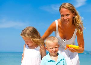 солнцезащитный крем для ребенка