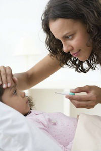 Температура без симптомов у ребенка