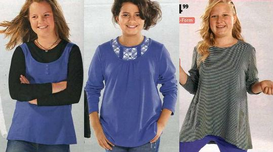 одежда для полных девочек-подростков