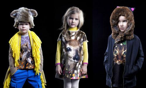 коллекция одежды для детей от Anne Kurris