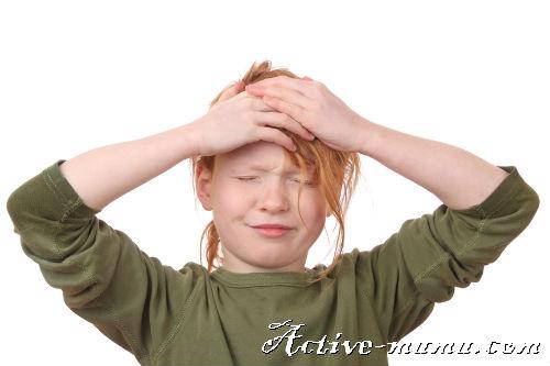 Головная боль у детей: причины, первая помощь, лечение