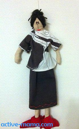авторская кукла Кристины Фёрстер