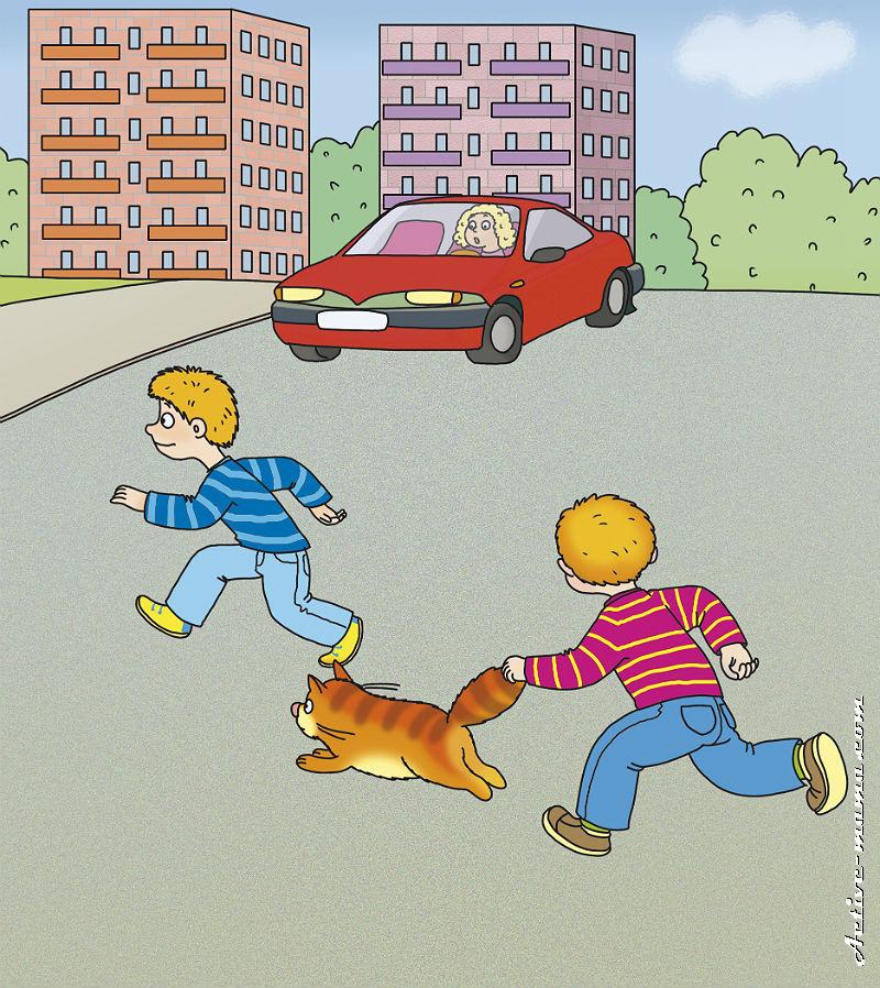 Картинки для детей по правилам дорожного движения