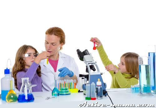 Опыты для детей