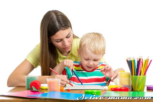 Занятия с ребенком 2 лет