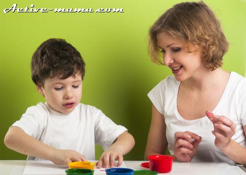 Занятия с ребенком 3 лет