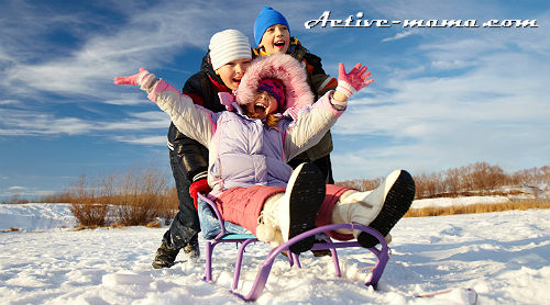 Зимние игры для детей