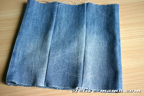 Юбки для девочки 5 лет из штанин старых джинсов