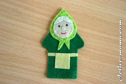 """пальчиковая игрушка """"Бабка"""""""