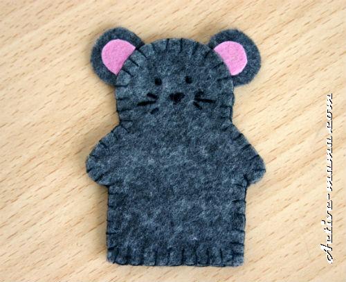 """пальчиковая игрушка """"Мышка"""""""