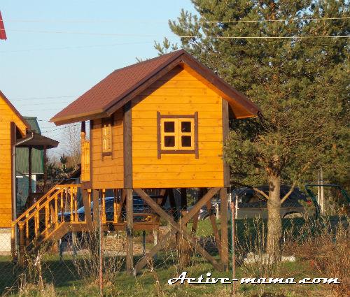 домик для детской площадки на даче