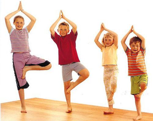 Йога для детей сказка