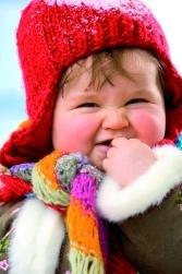 как одеть новорожденного зимой