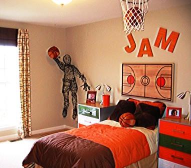 Детская комната для юного баскетболиста