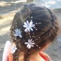 прическа девочке на 1 сентября
