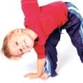 спортивная гимнастика для детей 3 лет