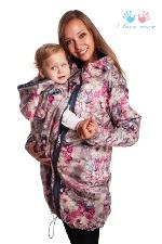 Демисезонная слингокуртка I Love Mum