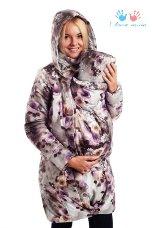 зимняя слингокуртка I love mum
