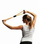упражнения с грудным эспандером