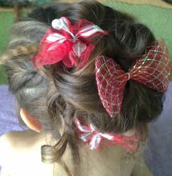 прическа для девочки для длинных волос