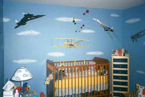 детские обои на стену