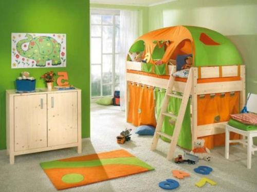 кровать с палаткой в детскую мальчика