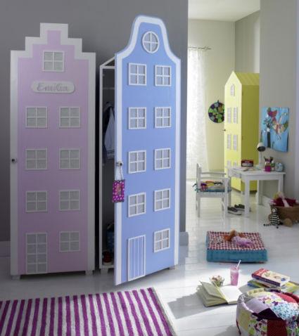 детский шкаф-домик