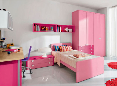 розовая мебель для девочки