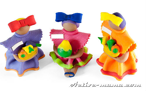 куклы из пластилина