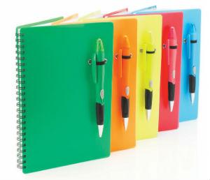 блокнот с ручкой - классический подарок педагогу