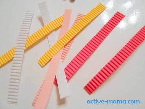 полоски для бумагокручения