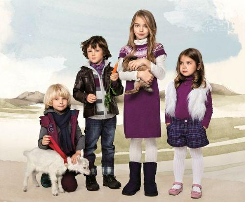 модная одежда для детей 2013